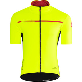 Castelli Perfetto Light 2 Maillot de cyclisme Homme, yellow fluo
